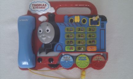 Adorable Vtech Talking & Light up My 1st Thomas Tank Engine Telephone